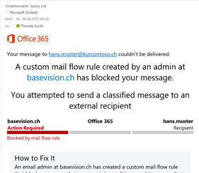 Protect your Data – Stop losing control over it – E-Mail
