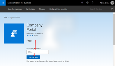 Preinstall Company Portal App to your computers with MDT - Workplace